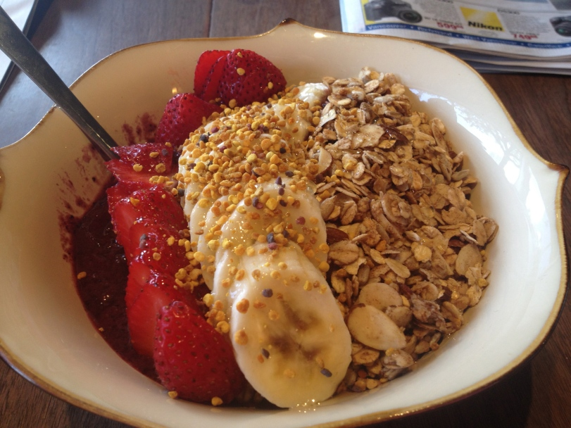Acai Bowls from the Anchor Eatery in West Vancouver