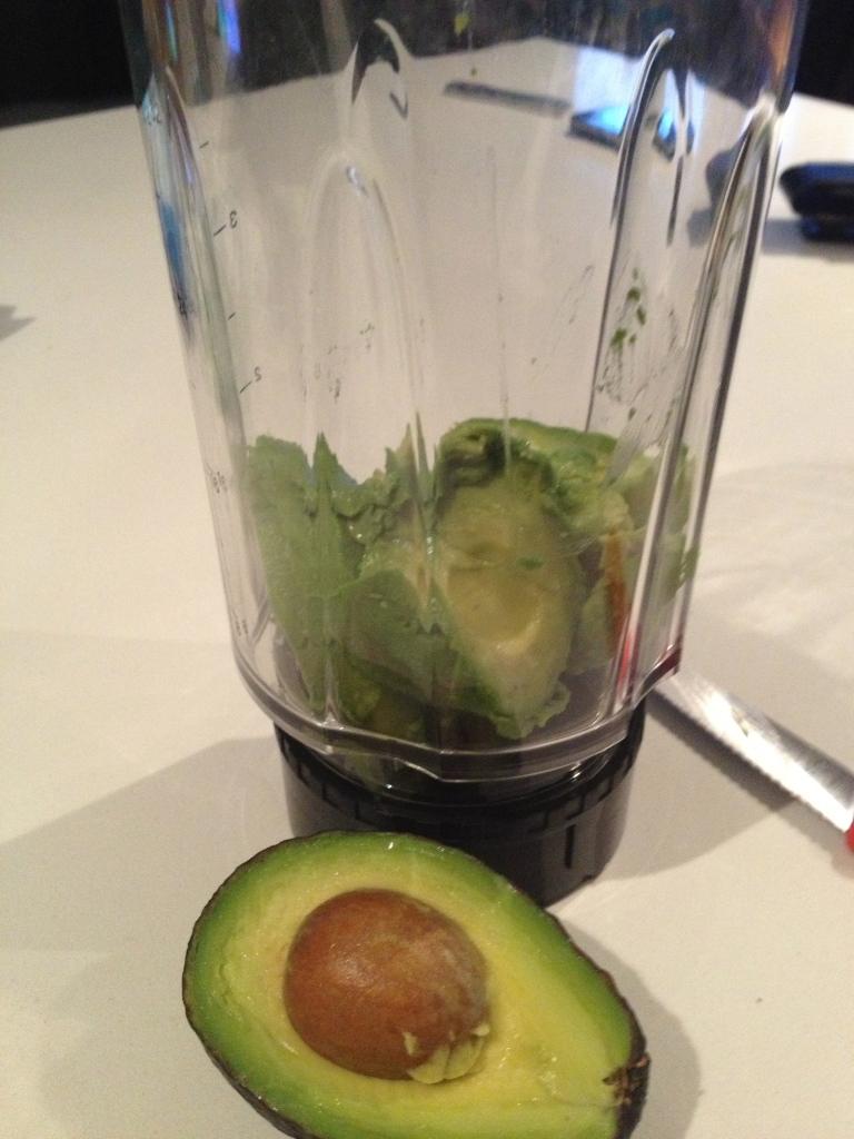 Avocado Blender Pudding