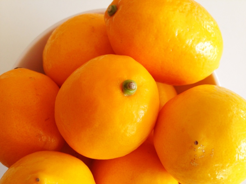 Gorgeous meyer lemons