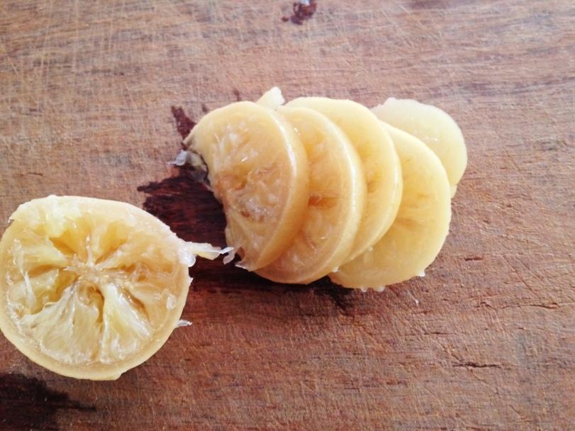 Preserved Lemon Cut in Slices