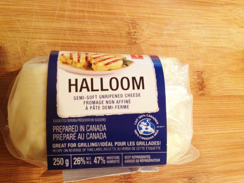 Salty delicious Halloumi Cheese!