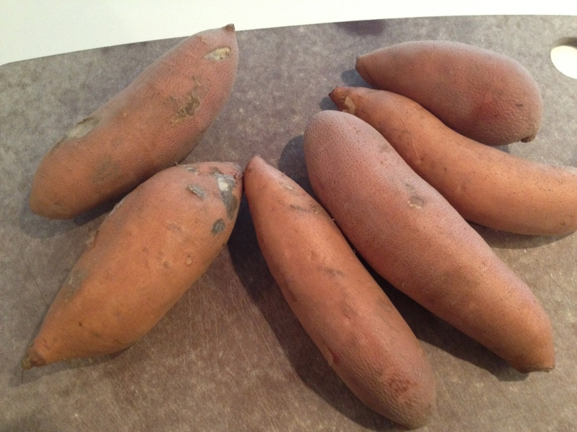 Sweet Potatoes from the market