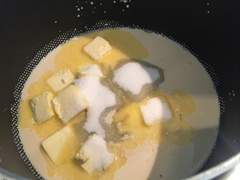 Butter, Sugar and Evaporated Milk