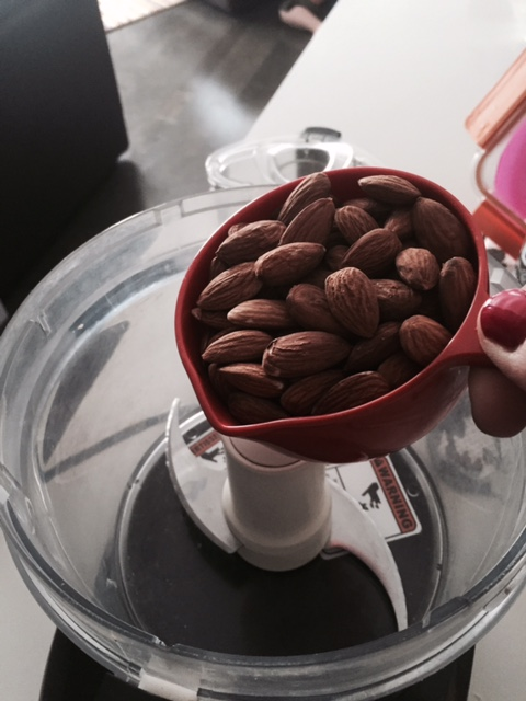 add almonds