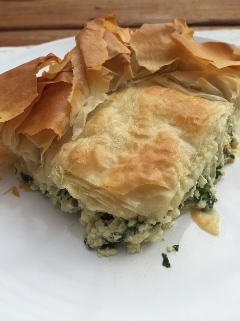 Spinach and Phyllo Casserole