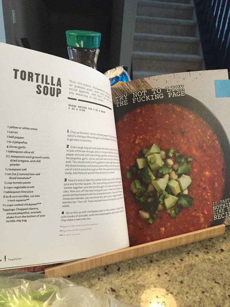 Tortilla Soup-Thug Kitchen Recipe.